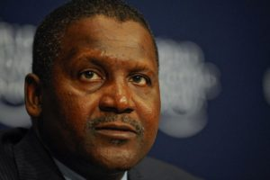 Aliko Dangote named Forbes richest man in Africa.